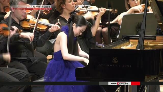Японская пианистка выступила вместе со знаменитым российским дирижером