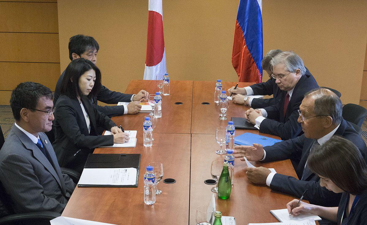 О встрече министров иностранных дел России и Японии в Маниле