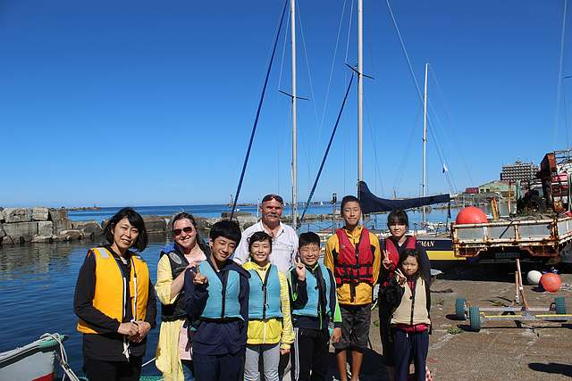 Японские школьники отдохнули в реабилитационном центре на Сахалине