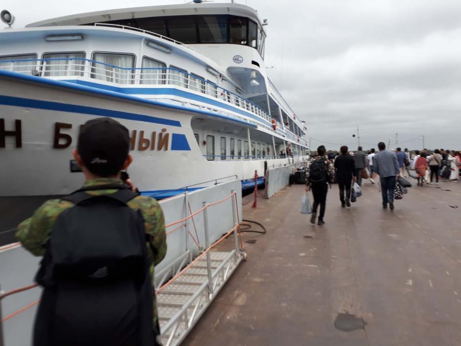 Первый чартерный рейс Токио − Якутск с японскими туристами