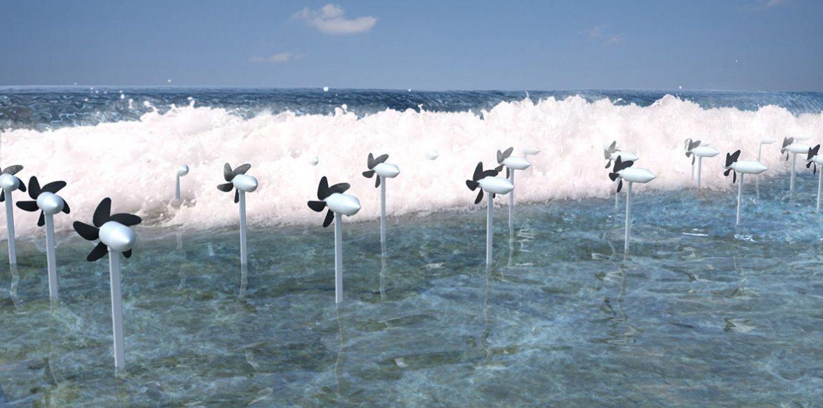 В Японии мощные приливные электротурбины заменят 10 АЭС