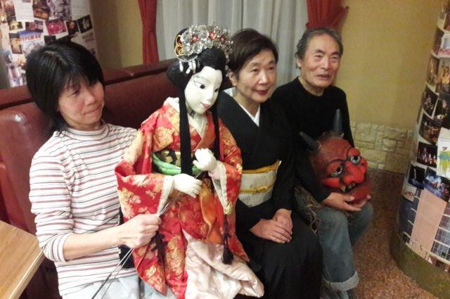 Девушка и чёрт с ней. Японцы показали спектакль на кукольном фестивале