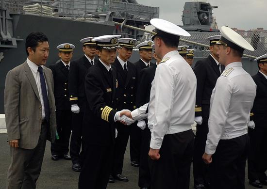 Отряд кораблей Тихоокеанского флота завершил визит в Японию