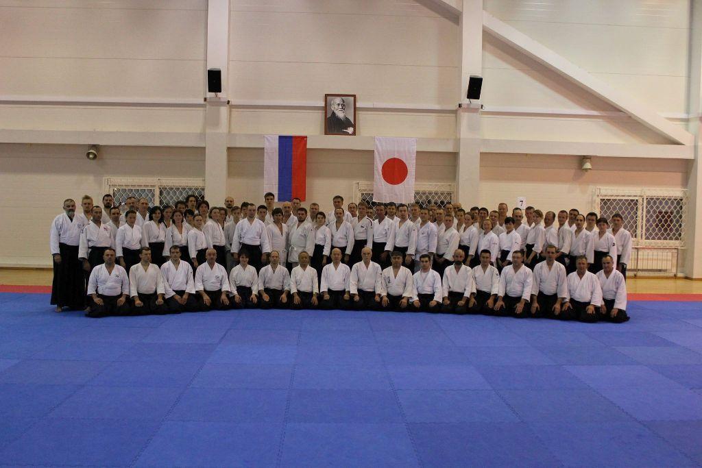 Традиционный семинар Межрегионального клуба айкидо «Оосинкан» в Анапе