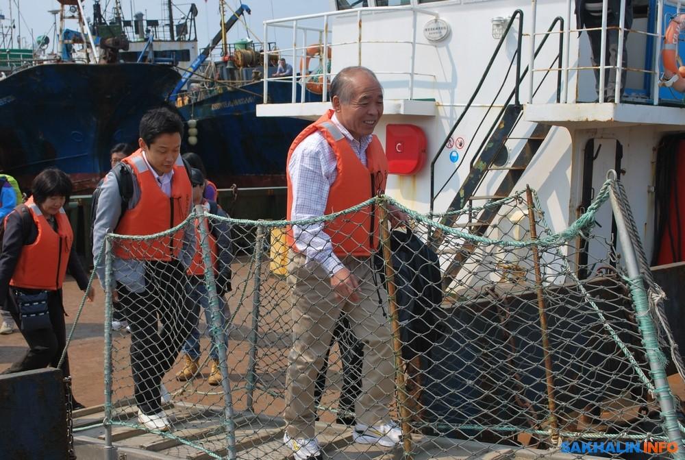 На Курилах подводят итоги сезона безвизовых обменов с Японией