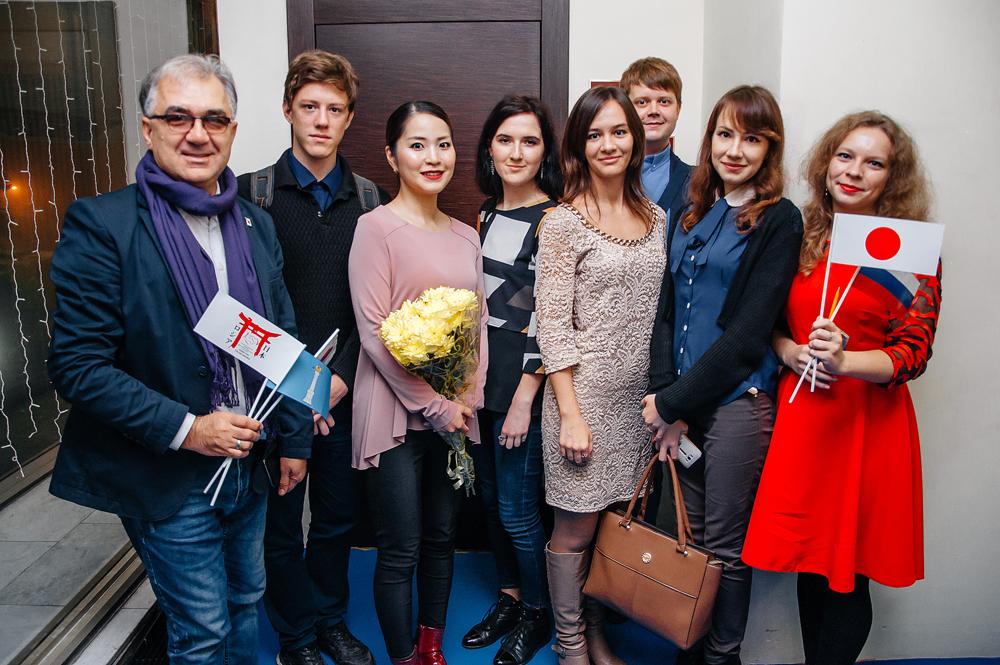 В Ульяновске с успехом прошло выступление японской скрипачки Маюко Камио