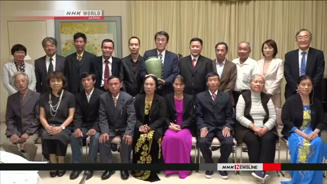 Потомки бывших японских военнослужащих из Вьетнама совершат недельную поездку в Японию