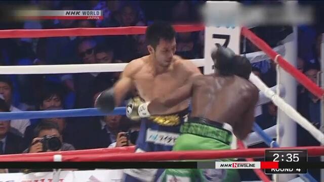 Мурата завоевал титул чемпиона мира по боксу WBA в среднем весе