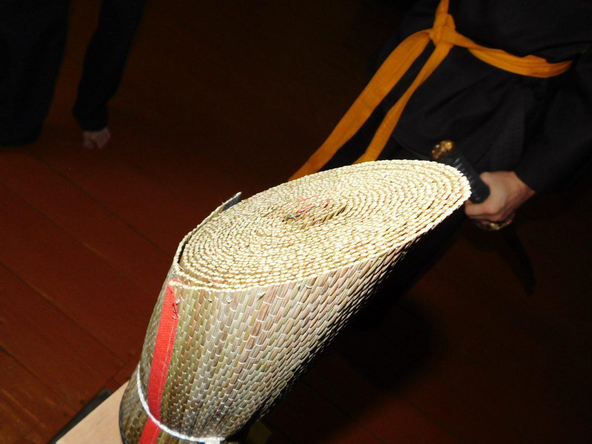 В Клубе исторической реконструкции «Клан Такеда» прошло очередное кейко по тамэсигири