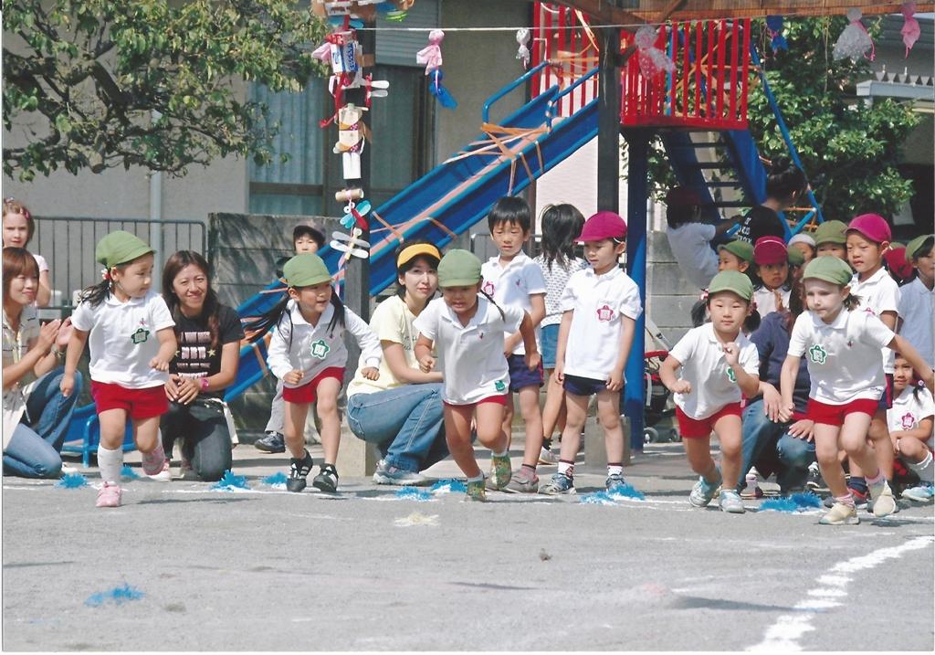 Праздники в японском детском саду