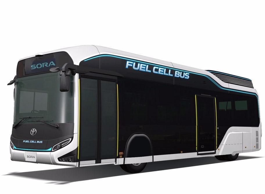 В Японии проходят полевые тестирования беспилотных пассажирских автобусов