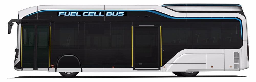 Toyota Sora — новый водородный автобус для гостей Олимпийских игр