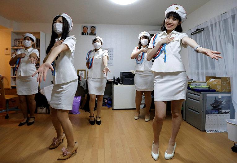Северокорейский фан-клуб в Токио