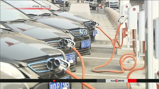 Японские производители электронной продукции готовятся к грядущему переходу Китая на электромобили