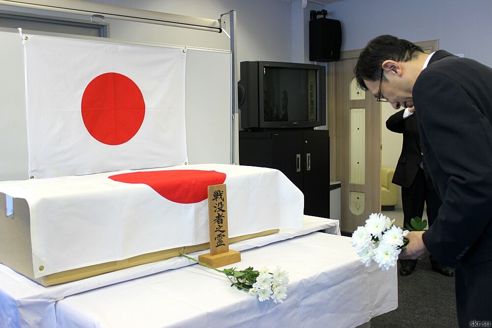 Останки погибших в 1945 году на Сахалине и Курилах японских солдат отправят на родину
