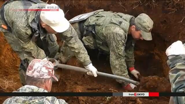 Россия передала Японии останки японских солдат