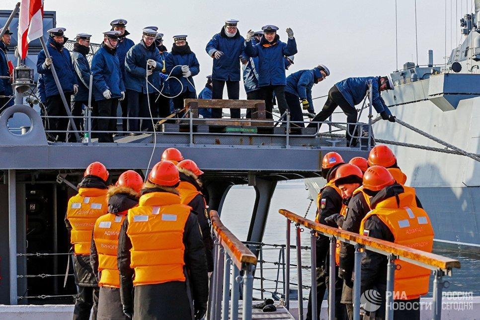 В Японском море прошли российско-японские морские учения «Сарекс-2017»