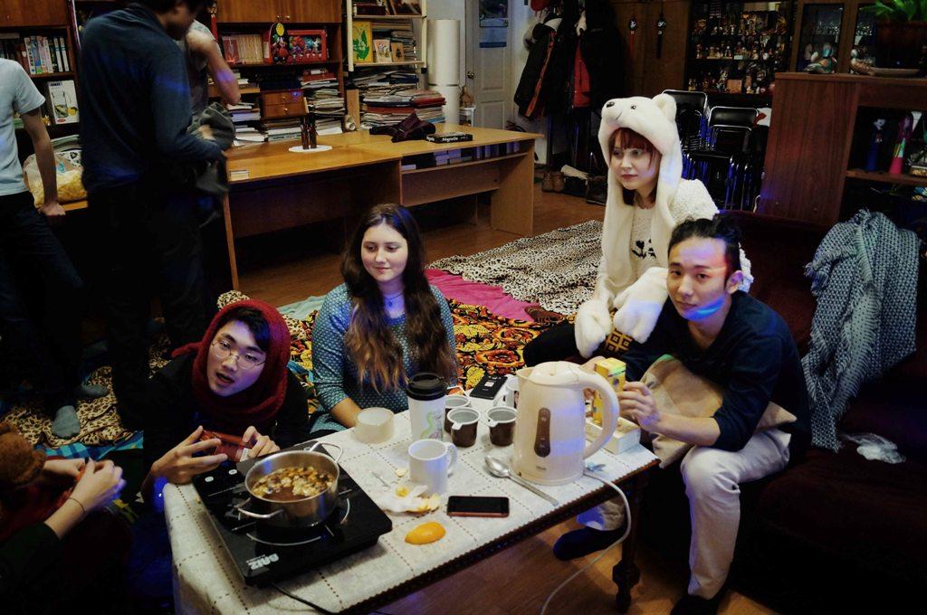 Молодежный совет Хабаровского СОД провел заседание русского клуба с иностранными студентами