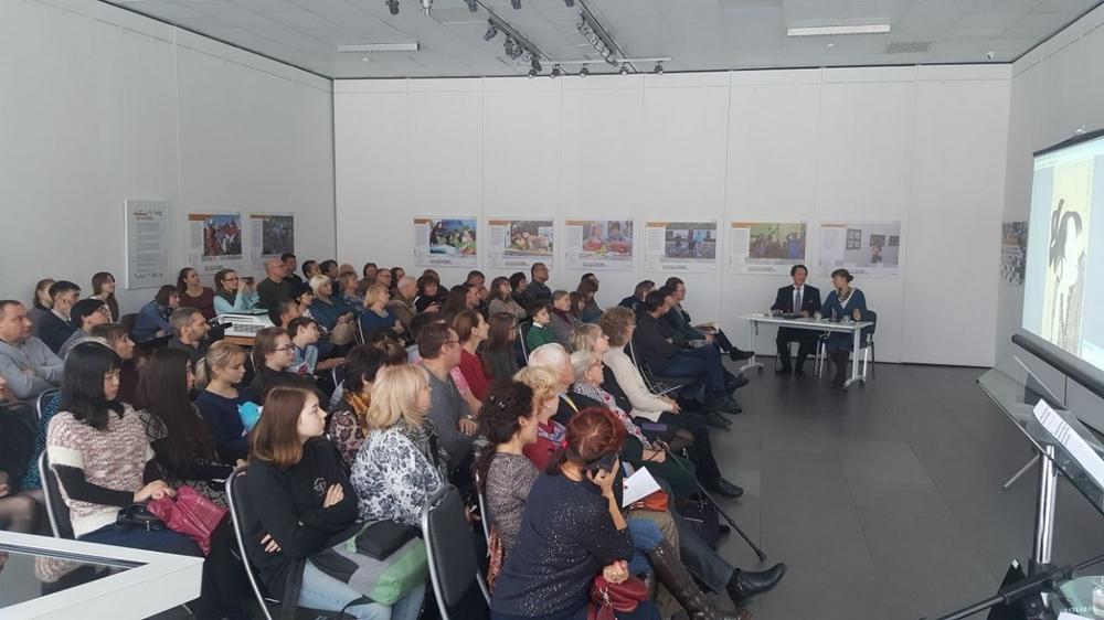 Более ста сахалинцев посетили лекцию о японских гравюрах