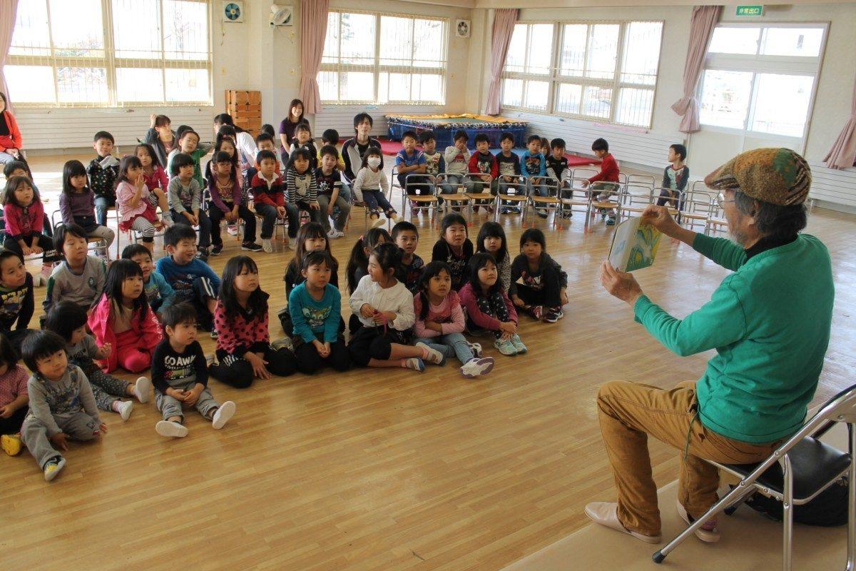 Книжки с картинками в образовательном пространстве японского детского сада