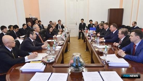 Россия и Япония сверили рыбные планы