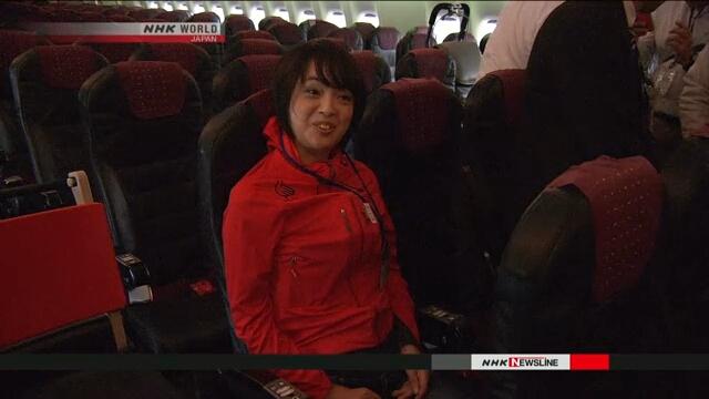В Токийском аэропорту Ханэда состоялось мероприятие для людей с ограниченными возможностями