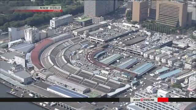 Старый столичный рынок Цукидзи будет превращен в транспортный центр Токийской Олимпиады
