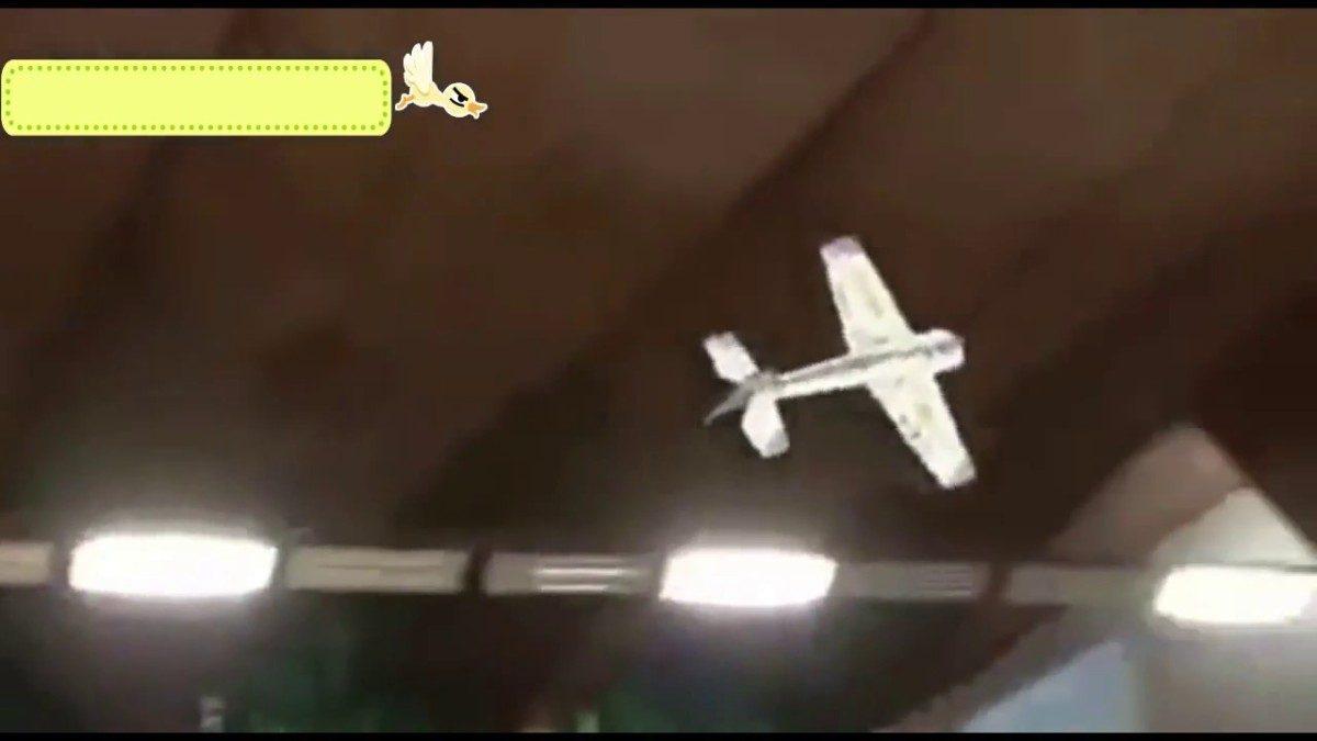 Танцевальный самолёт – проект японского школьника, который нарушил все законы аэродинамики (видео)