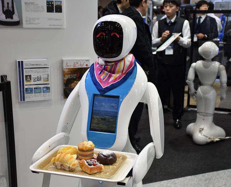 Роботы могут помочь решить проблему нехватки рабочей силы в Японии