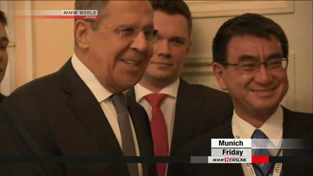 Главы МИД Японии и России договорились провести встречу в марте