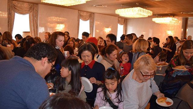 Посольство России в Японии впервые устроило празднование Масленицы