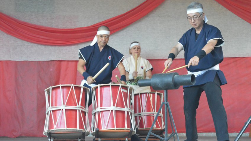 Японские барабанщики совместно с «Плясками седьмого неба» устроят в Ульяновске шумный концерт