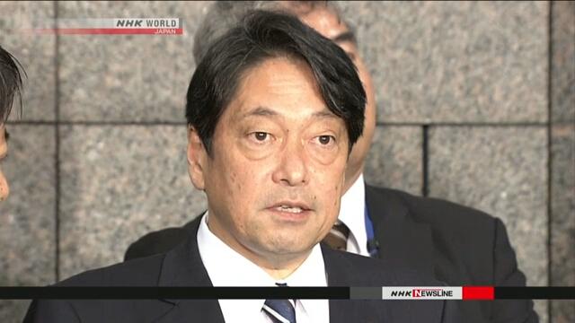 Ицунори Онодэра принес извинения в связи с обнаружением записей, касающихся деятельности Сил самообороны в Ираке