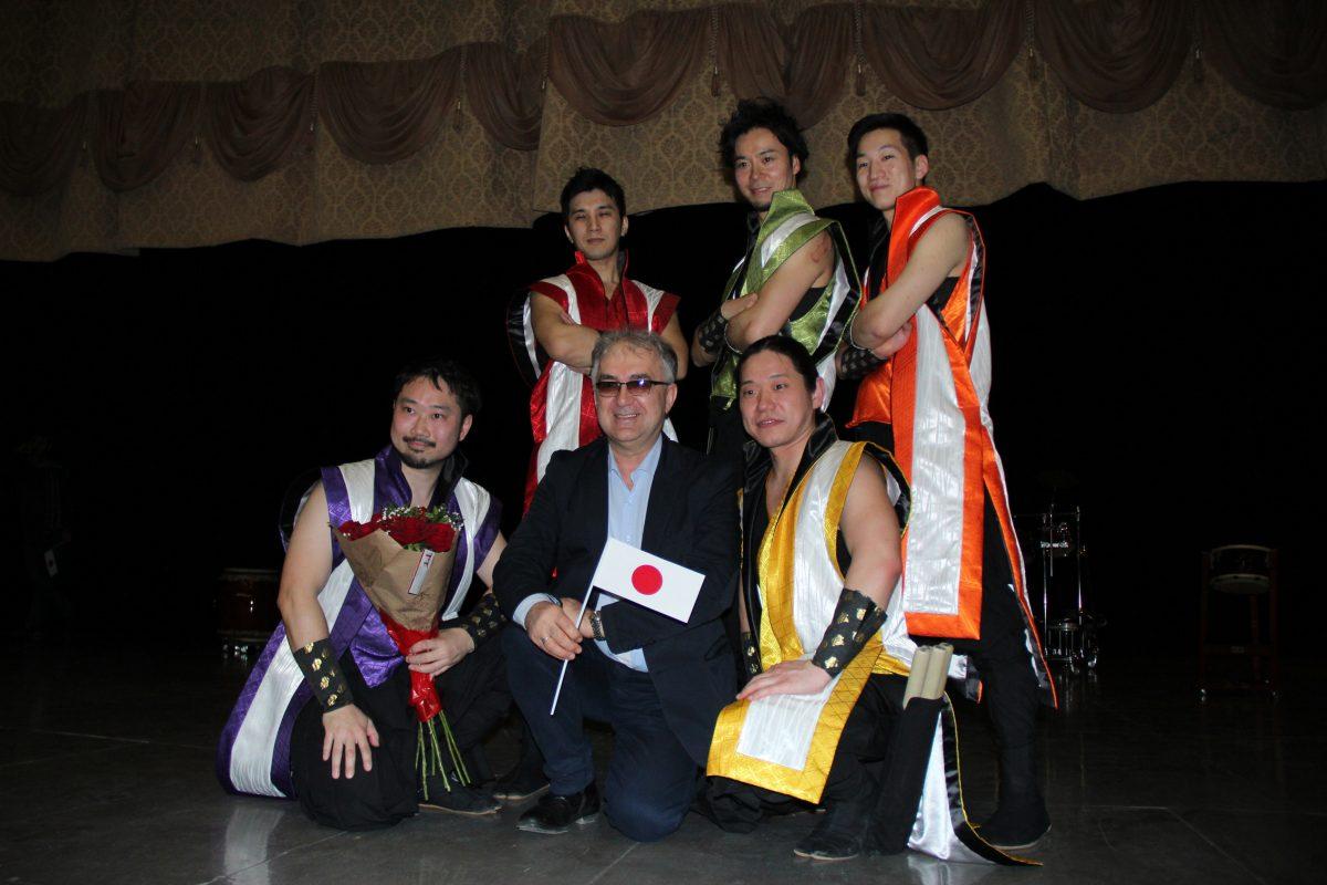 В Ульяновске раздались звуки японских барабанов тайко