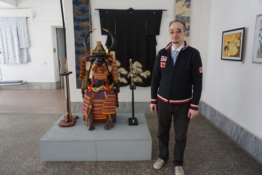 Оружие самураев, копии японских гравюр, уникальное кимоно – в Бийске можно узнать все о стране Восходящего Солнца
