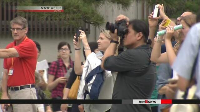 С 1 мая в Токио начнутся англоязычные туры по территории императорского дворца