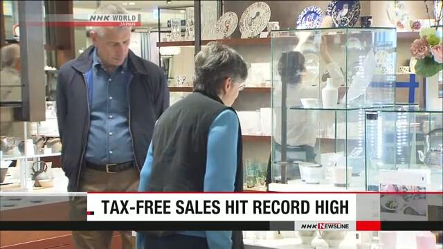 В марте продажи в японских универмагах вышли на рекордно высокий уровень