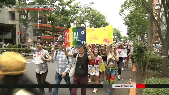 Крупнейший в Японии парад ЛГБТ-сообщества состоялся в Токио