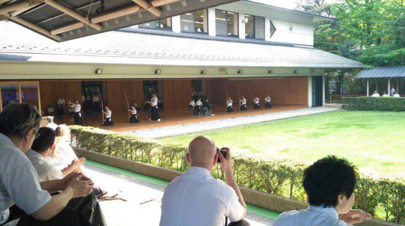 4-й Международный семинар по Кюдо в Токио и результаты экзаменов (20-29.04.2018)