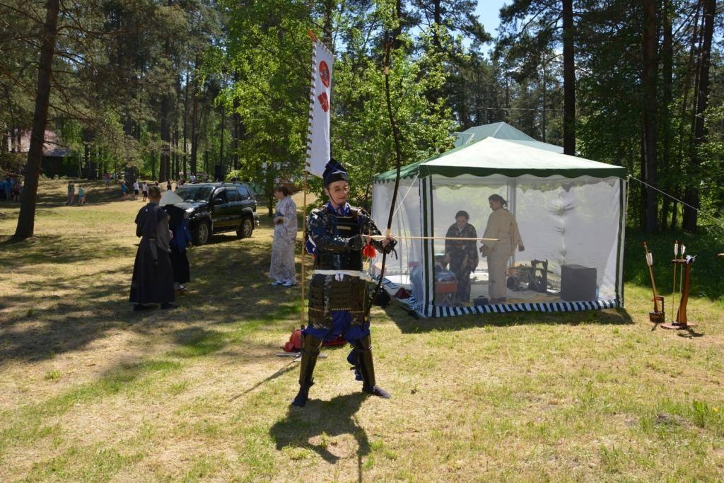 «Клан Такеда» на празднование ТД «Аникс»