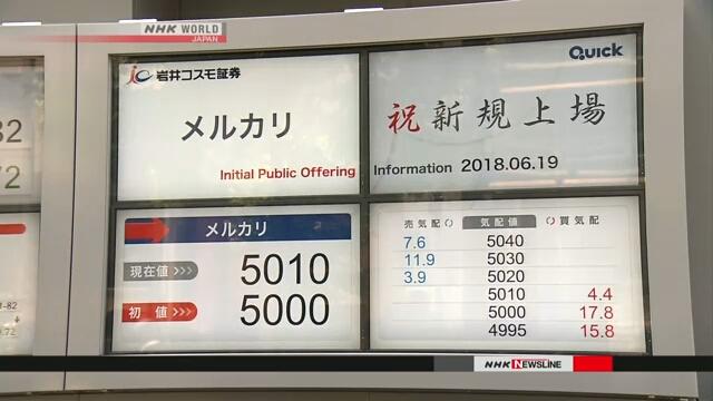 Японская компания-оператор популярного приложения получила регистрацию на фондовой бирже