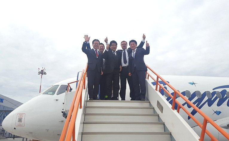 Российские сенаторы и японские парламентарии на Ысыахе в Якутске!