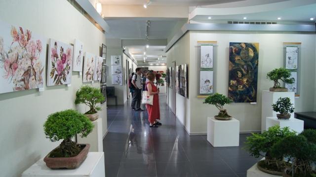 Открытие выставки к Году Японии в России