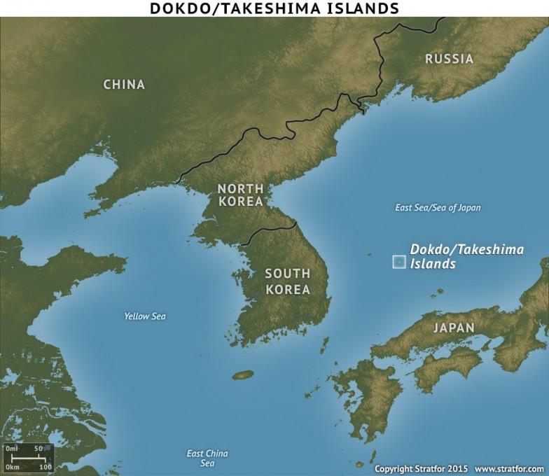 СМИ: Япония заявила протест Южной Корее из-за спорных островов Такэсима
