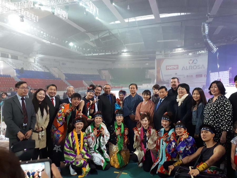 Фестиваль японской культуры «Мацури» в Якутске