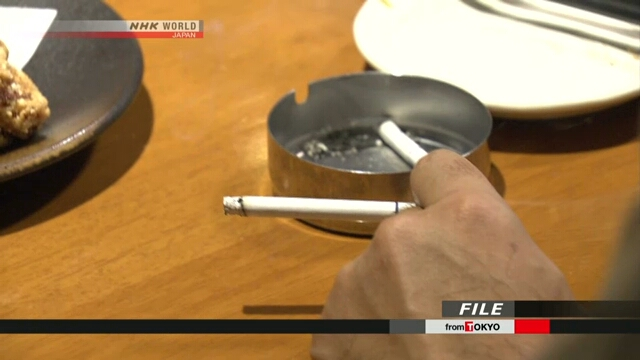Япония приняла законодательные меры против пассивного курения