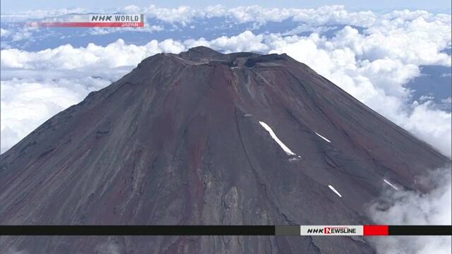 Стартовал забег на гору Фудзи