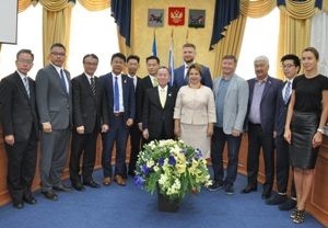 Иркутск посетила делегация из японского города Канадзава