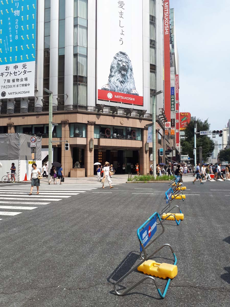 Летний Токио! Гиндза, Акихабара, праздник Танабата и Суйтэнгу!