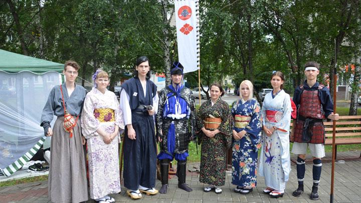 План «Такеда» позволяет погрузить бийчан в атмосферу средневековой Японии